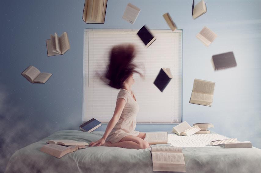 De woorden 'echt' en 'ongelooflijk' wijzen op lichamelijke stress